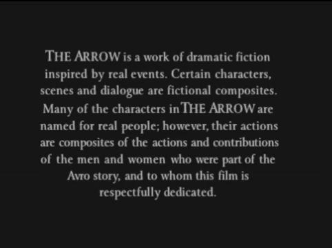 the arrow opening